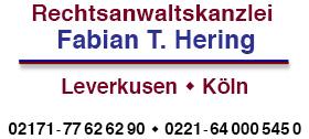 Rechtsanwaltskanzlei Hering - Rechtsanwalt Fabian T. Hering - Leverkusen - Köln